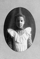 0621414 © Granger - Historical Picture ArchiveYOUNG WOMAN, c1899.   Bazoline Estelle Usher, a student at Atlanta University in Georgia. Photograph, c1899.