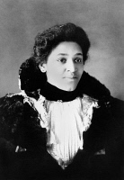 0621416 © Granger - Historical Picture ArchiveYOUNG WOMAN, c1899.   Portrait of a young African American woman from Georgia. Photograph, c1899.