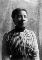 0621420 © Granger - Historical Picture ArchiveWOMAN, c1899.   Portrait of an African American woman from Georgia. Photograph, c1899.