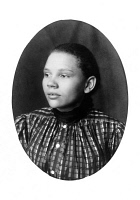 0621422 © Granger - Historical Picture ArchiveWOMAN, c1899.   Portrait of a young African American woman from Georgia. Photograph, c1899.