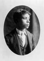 0621423 © Granger - Historical Picture ArchiveMAN, c1899.   Portrait of a young African American man from Georgia. Photograph, c1899.