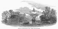 0090485 © Granger - Historical Picture ArchiveAFRICA: SLAVE SHIP, 1853.   Capture of a slave ship on the Pongas River in Guinea, West Africa, by seamen from the English warship, HMS 'Linnet.' Wood engraving, English, 1853.
