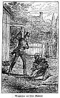 0176394 © Granger - Historical Picture ArchiveSLAVERY: WHIPPING.   'Whipping of Old Barney.' Engraving from 'Life and Times of Frederick Douglass' by Frederick Douglass, 1881.