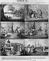 0260124 © Granger - Historical Picture ArchiveSLAVERY, 1861.   'Views of Slavery.' Lithograph, c1861.