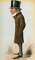 0045580 © Granger - Historical Picture ArchiveWILLIAM EWART GLADSTONE   (1809-1898). English statesman. Caricature lithograph, 1869, by 'Ape' (Carlo Pellegrini).