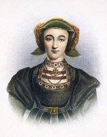 0085497 © Granger - Historical Picture ArchiveANNE OF CLEVES (1515-1557).   Fourth wife of King Henry VIII of England. Steel engraving, 19th century.