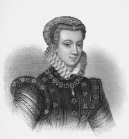 0060382 © Granger - Historical Picture ArchiveMARY, QUEEN OF SCOTS   (1542-1587). Mary Stuart, Queen of Scotland, 1542-1567. At age 17. Stipple engraving, English, 19th century.