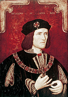 0126628 © Granger - Historical Picture ArchiveRICHARD III (1452-1485).   King of England, 1483-1485.   Oil painting by an unknown artist.
