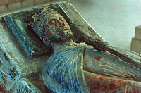 0020622 © Granger - Historical Picture ArchiveKING RICHARD I OF ENGLAND.   Stone tomb effigy at Fontevrault Abbey.