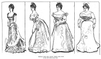 0002602 © Granger - Historical Picture ArchiveGIBSON: THEIR OWN WAY.   Charles Dana Gibson (1867-1944). American illustrator. 'People Who Will Have It Their Own Way. The Girl Who Wanted A Small Waist.' Pen and ink drawing, 1899.