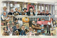 0009872 © Granger - Historical Picture ArchivePOPULIST PARTY CARTOON.   The Supreme Court,-'As it may hereafter be constituted.' American cartoon, 1896, on the views of the Populists and Free Silverites.