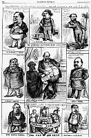 0089183 © Granger - Historical Picture ArchiveNAST: TWEED RING CARTOON.   'The President of the United States and his Cabinet, for 1872.(?)' Cartoon by Thomas Nast from an American newspaper of August 1871, placing members of the Tweed Ring in cabinet posts as a possible outcome of the November election.