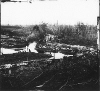 0371202 © Granger - Historical Picture ArchiveCIVIL WAR: BULL RUN, 1861.   Cub Run Creek in Virginia. Photographed in March 1862 by George N. Barnard following the evacuation of Centreville and Manassas by Confederate troops after the First Battle of Bull Run.