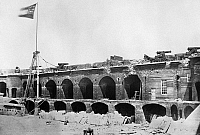 0259338 © Granger - Historical Picture ArchiveCIVIL WAR: FORT SUMTER.   Fort Sumter in Charleston Harbor, South Carolina. Photograph, 17 April 1861.