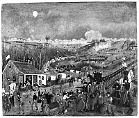 0259384 © Granger - Historical Picture ArchiveCIVIL WAR: FREDERICKSBURG.   'Battle of Fredericksburg.' Lithograph by John Richards, mid or late 19th century.