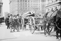 0167115 © Granger - Historical Picture ArchiveKEARNY REINTERMENT, 1912.   The remains of Union Army General Phillip Kearny being moved from Trinity Churchyard in New York City to Arlington Cemetary. Photograph, 1912.