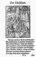 0098592 © Granger - Historical Picture ArchiveFURRIERS, 1568.   Woodcut, 1568, by Jost Amman.