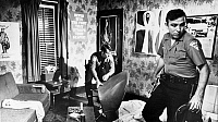 0096734 © Granger - Historical Picture ArchiveKANSAS: DRUG RAID, 1971.   Police officers in Emporia, Kansas, conduct a drug search in an apartment being rented by several youths during early morning raids organized by the state Attorney General, Vern Miller, September 1971.