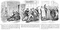 0013048 © Granger - Historical Picture ArchivePOLICE CORRUPTION CARTOON.   An 1859 newspaper cartoon comment on the corruption and inefficiency of the New York City police.