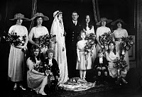 0169941 © Granger - Historical Picture ArchiveROYAL WEDDING, 1919.   The wedding of Princess Patricia of Connaught, a granddaughter of Queen Victoria, and the Hon. Alexander Ramsey, 27 February 1919.
