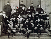 0039270 © Granger - Historical Picture ArchiveWEST POINT FOOTBALL TEAM.   The football team of the United States Military Academy, 1896.