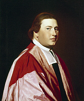 0107134 © Granger - Historical Picture ArchiveMYLES COOPER (1735-1785).   Anglican priest and founder of King's College in New York. Oil painting by John Singleton Copley, 18th century.