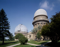 0623226 © Granger - Historical Picture ArchiveYERKES OBSERVATORY.   University of Chicago's Yerkes Observatory in Williams Bay, Wisconsin. Photograph by Carol Highsmith, late 20th century or early 2000s.