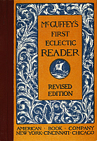 0007099 © Granger - Historical Picture ArchiveMcGUFFEY'S READER, 1879.   Cover of William Holmes McGuffey's 'First Eclectic Reader,' 1879.