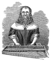 0014089 © Granger - Historical Picture ArchiveBEARDED LADY.   Barbara Urselin, a bearded woman exhibited in Europe in 1655: wood engraving.