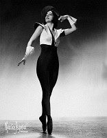 0172852 © Granger - Historical Picture ArchiveRUTH PAGE (1899-1991).   American ballerina and choreographer. Dancing in a production by the Federal Ballet in Chicago, c1940. Photograph by Maurice Seymour.
