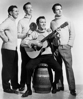 0621910 © Granger - Historical Picture ArchiveTHE CLANCY BROTHERS, 1962.   Irish folk group 'The Clancy Brothers and Tommy Makem.' Photograph by James J. Kriegsmann, 1962.