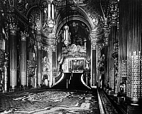 0123230 © Granger - Historical Picture ArchiveMOVIE PALACE, 1929.   The main lobby of the Fox Theater on Market Street in San Francisco, California, opened in 1929.