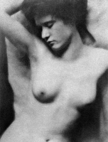 0097688 © Granger - Historical Picture ArchiveRECLINING NUDE, c1910.   Nude study, c1910, by Clarence H. White and Alfred Stieglitz.