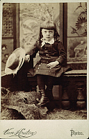 0038836 © Granger - Historical Picture ArchiveLITTLE LORD FAUNTLEROY.   Child actor Wally Van in the title role of a late 19th century New York theatrical production of