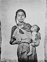 0065299 © Granger - Historical Picture ArchiveTAIWAN: MOTHER, 1870s.   A Pepohoan mother and child, 1870s.