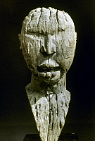 0018663 © Granger - Historical Picture ArchiveAFRICAN ART: FETISH.   Fragment of a wooden fetish. Bakongo, Congo. Height: 30.6 cm.