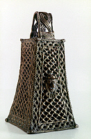 0041718 © Granger - Historical Picture ArchiveAFRICAN ART: NIGERIA.   Bell from Benin, Nigeria. Bronze, 16th-17th century.