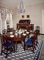 0039429 © Granger - Historical Picture ArchiveFEDERAL ROOM, 1810.   Room from the Henry Craig house in Baltimore, Maryland, c1810.