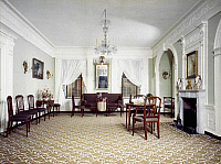 0039430 © Granger - Historical Picture ArchiveFEDERAL ROOM, 1810.   Room from the William Moore house, Petersburg, Virginia, c1810.
