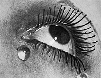 0057267 © Granger - Historical Picture ArchiveMAN RAY: TEARS, 1930.   Larmes (Tears). Photograph (detail) by Man Ray, c1930. EDITORIAL USE ONLY.