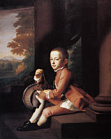 0131597 © Granger - Historical Picture ArchiveDANIEL CROMMELIN VERPLANCK   (1762-1834). American politician and United States Representative. Portrait at the age of nine, with a pet squirrel. Oil on canvas by John Singleton Copley, 1771.
