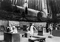 0133681 © Granger - Historical Picture ArchiveNEW YORK: ARMORY SHOW.   The International Exhibition of Modern Art at the 69th Regiment Armory at Lexington Avenue and 26th Street in New York City, 1913.