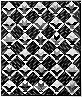 0175852 © Granger - Historical Picture ArchiveAMERICAN QUILT, c1888.   American quilt with a cactus basket pattern, c1888.