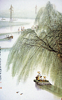 0043068 © Granger - Historical Picture ArchiveCHINA: EARLY SPRING.   Early Spring in South China. Chinese poster, 1973.