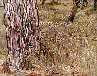 0026914 © Granger - Historical Picture ArchiveVAN GOGH: PARK, 1890.   Vincent Van Gogh: Fresh grass in park. Canvas, 1890.