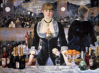 0021020 © Granger - Historical Picture ArchiveMANET: FOLIES-BERGERES.   The Bar at Folies-Bergeres. Oil on canvas by Edouard Manet, 1881-82.