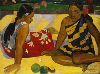 0024738 © Granger - Historical Picture ArchiveGAUGUIN: TAHITI WOMEN, 1891.   Paul Guaguin: Women of Tahiti, or On the Beach. Oil on canvas, 1891.