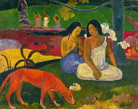 0024989 © Granger - Historical Picture ArchiveGAUGUIN: AREAREA, 1892.   'Arearea' (Red Dog). Oil on canvas, 1892, by Paul Gauguin.