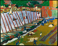 0064492 © Granger - Historical Picture ArchiveDERAIN: SUBURBS COLLIOURE.   Oil on canvas, 1905.
