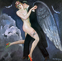 0103897 © Granger - Historical Picture ArchiveVAN DONGEN: TANGO, c1930.   'The Tango of the Archangel.' Oil on canvas, c1930, by Kees van Dongen. EDITORIAL USE ONLY.
